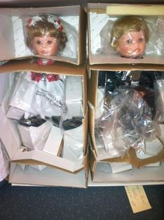 "Susan Wakeen's ""Hansel & Gretel"" Dolls. BRAND NEW In their original box with all Original Paperwork,"