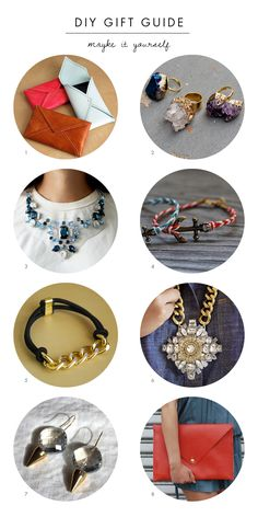 DIY GIFT GUIDE | 8 Ideas to Make Yourself