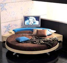 Letti rotondi on pinterest round beds moda and circle bed for Letti tondi