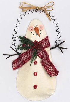 Paper Bag Snowman - Crafts 'n things
