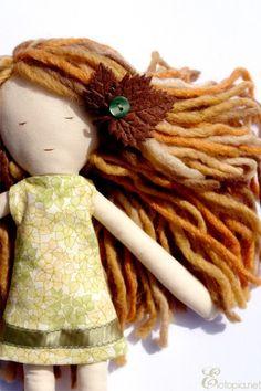 Beautiful doll hair