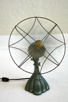 cool vintage fan . . .