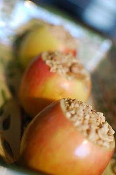 Inside out carmel apples