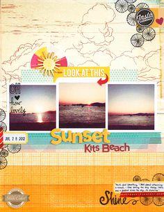 In a Creative Bubble: Sunset love.