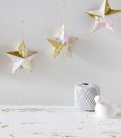 DIY Fringed Ornament Garland - Confetti Pop