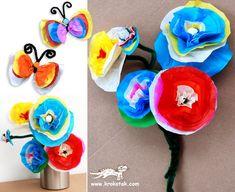 Spring flowers...kids craft