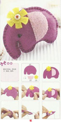 DIY elephant