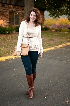 Fall Neutrals-- I need this outfit! #neutral #fall #autumn #style #fashion #ootd #wiww