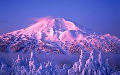 With Oregon's green and lavish fields, Mt. Bachelor will appear with it's unique look of volcanic lava flows and valleys. Famous for it's 350 inches of dry snow and the 3,000 vertical feet of top to bottom skiing, Mt. Bachelor is a must ski.