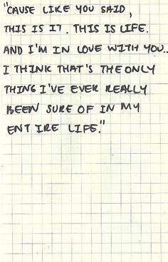 feel, entir life, thing lovely3, gardens, garden state quotes