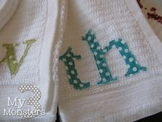 If only I had a cricut.  Fabric cutting craft with the cricut...great for teacher or hostess gifts!