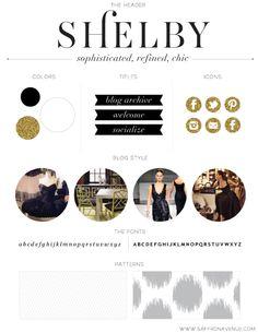 Shelby Blog palette, by Saffron Avenue