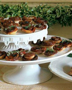 Caramelized Onion Tartlets Appetizer Recipe