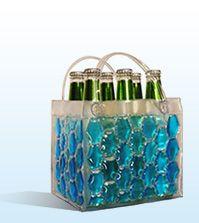 gift, cooler bag, blue, drink, coolers, chill, beer cooler, bag beer, bags