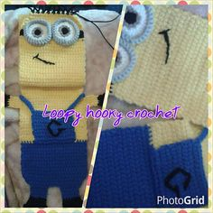 Ravelry: Double Slot Childs Minion Scarf pattern by Angie Mc
