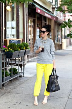 Mid-Week Sweatshirt Style cheetah, weekend outfit, chic outfits, fall outfits, comfy casual, casual looks, color pants, black, spring style