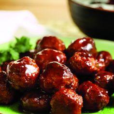 Recipes - Chili Cranberry Fusion Meatballs - Chicken.ca