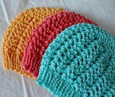 3 cotton summer hats