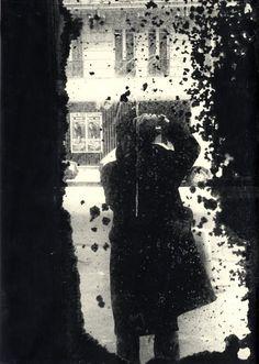 Self portrait Daido Moriyama