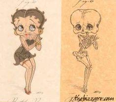 Anatomía de los dibujos animados