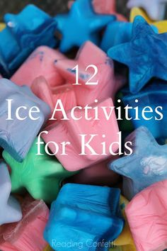 12 Ice Activities from Reading Confetti