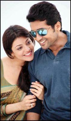 "Kajal & Surya in ""Matraan"""