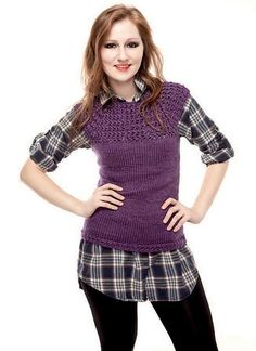 Free pattern! Enchanted Pullover