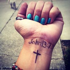 """""""You do not realize now what I am doing, but later you will understand."""" (John 13:7) #tattoo"""