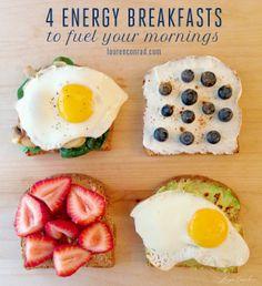 Good Eats: Energy Breakfasts