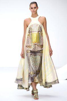 Mary Katrantzou Spring 2013 RTW Collection - Fashion on TheCut