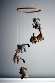 Animal mobile from Restoration Hardware baby & child