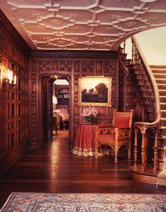 Tudor style Foyer...