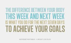 Believe you can achieve!  7 days...