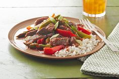 Saucy Pepper Steak Recipe