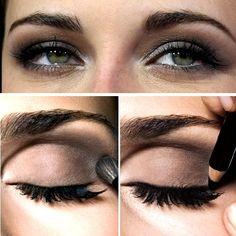 An easy smokey eye