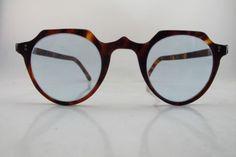 U.K. 1940s tortoise shell glasses. Hand made in England.