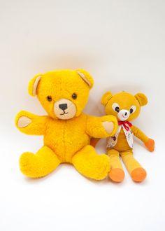 yellow bear, bear friend