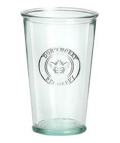 Take a look at this Bee Happy Glass - Set of Four by Global Amici on #zulily today!