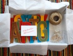 DIY TUTORIAL: How to Make a Felt Letter Garland | Catch my Party.com