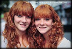 Beautiful redhead twins Anne & Malou Luchtenbery