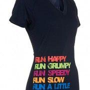 fun running shirt