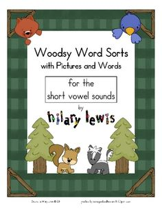 Word Sorts with Pictures-Short Vowel Sounds $5.99