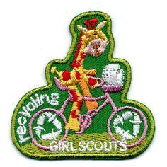 gs daisi, gs patch, fun patch, girl scouti, giraff sewon