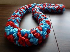 Great for swim team championship lei or graduation lei team gifts, diy ribbon, graduation gifts, ribbon lei