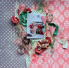 Christmas+Layout++**7Dots+Studio+**+and+Clear+Scraps - Scrapbook.com