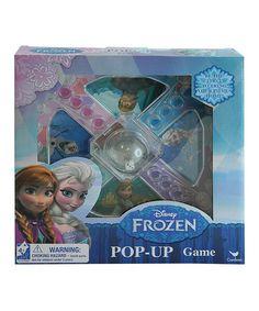Another great find on #zulily! Frozen Pop-Up Game by Frozen #zulilyfinds