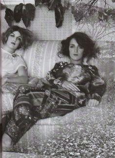 Coco and Bianca Brandolini by Deborah Turbeville vintag, brandolini dadda, ident eye, vogue italia, deborah turbevill, inspir, bianca brandolini, fashion photographi, coco