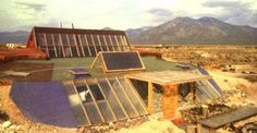 Architect Michael Reynolds uses tires and aluminum cans to create Earthships, energy-efficient homes that retain solar energy in their walls. With this technique, you can build an affordable house without any homebuilding expertise.
