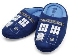 Doctor Who TARDIS Slippers (USA)