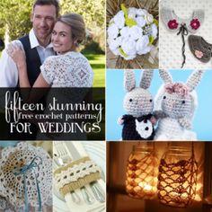 15 Free Crochet Patterns for Weddings